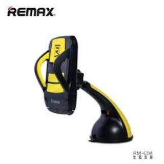 Remax RM-C04 Motion Car Mount (Black/Yellow)