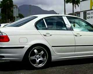 E46 pilar B Rear Window Piano Black Deco