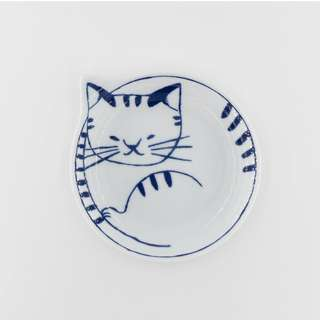 日本波佐見燒小碟 - 虎紋貓