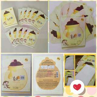 [STOCK CLEARANCE] Authentic Facial Mask From Korea