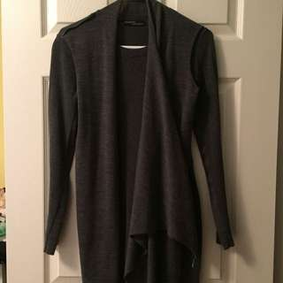 All Saints gray sweater dress in size 0
