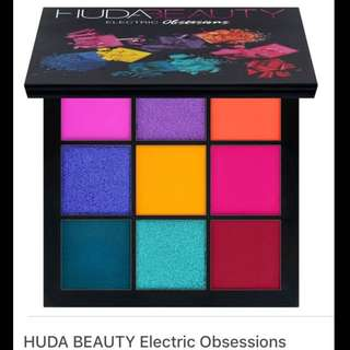 Huda beauty electric obsessions new authentic 💯