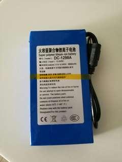 12V 9800AH battery brand new
