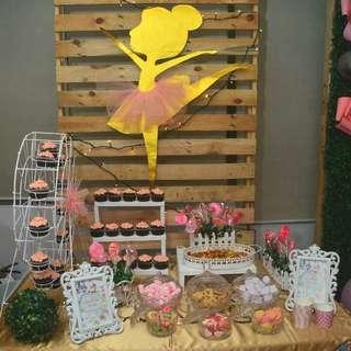 Candy Buffet Setup
