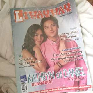 KathNiel Liwayway Newspaper