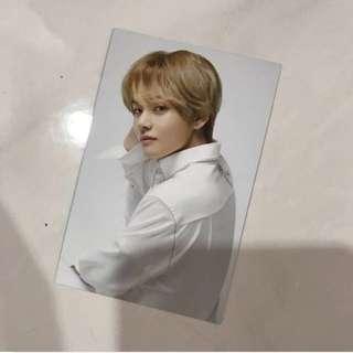 VT x BTS Jumbo Toothbrush Photocard V Taehyung