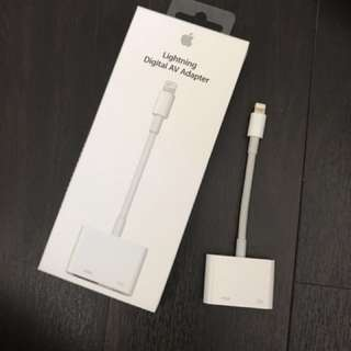 原裝Apple Lightning Digital AV Adapter