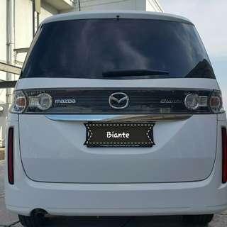 Mazda Biante 2.0 at 2012 putih metalik