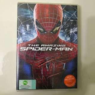 Amazing Spider-Man Movie DVD Marvel