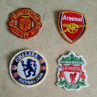 Iron On Patches - football soccer