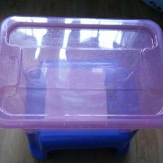 💞粉色小膠盒