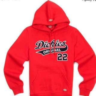 買定「情人節」禮物 - Dickies 超靚衛衣 (要訂),有淺灰、紅色