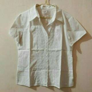 Preloved Kemeja Bordir Second