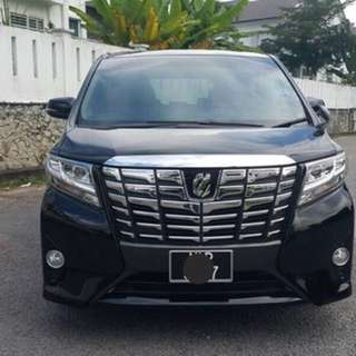 SAMBUNG BAYAR  TOYOTA ALPHARD 2.5 NEW FACELIFT TAHUN 2015/2017 BULANAN RM 3246 BAKI 8 TAHUN 9 BULAN  2 POWERDOOR LEATHER SEAT 8 SEATER ROADTAX OKT 2018 MILEAGE LOW 25K CONDITION NEW  DP KLIK wasap.my/60133524312/alphard