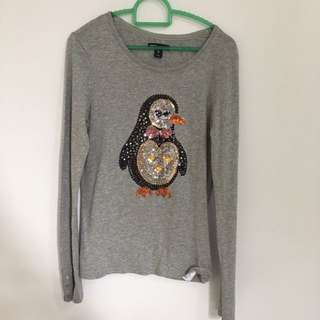 Gap Kids Grey Sequin Sweater