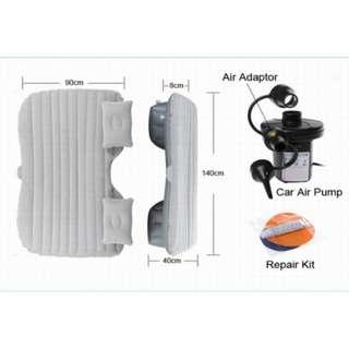 Matras Kasur Udara Portable Untuk Mobil Bahan Tebal Bonus Pompa Elektrik