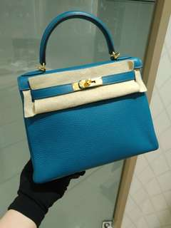 Hermes kelly 28 turquoise