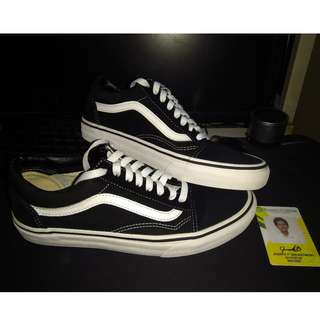 Vans Old Skool B&W
