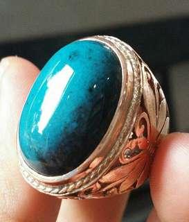 Batu Bacan Ring Titanium Super