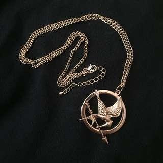 Mockingjay necklace Hunger Game