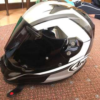 Arai Tour cross 3 flare grey.