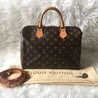 Louis Vuitton Bandouliere 30 Monogram 2011 | with Bag, Strap, Dustbag, Padlock and Key | Nett Price-54m