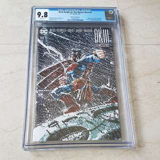CGC 9.8 Dark Knight The Master Race (DK III) #9 Frank Miller Variant Comic