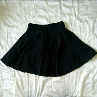 🚚 ✨全新現貨🎉黑色百搭實穿甜美褲裙