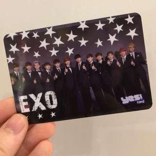 Yes絕版膠卡-EXO 1