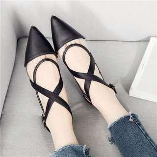 性感潮款✨尖頭瑪麗珍鞋-3色(35~39碼)