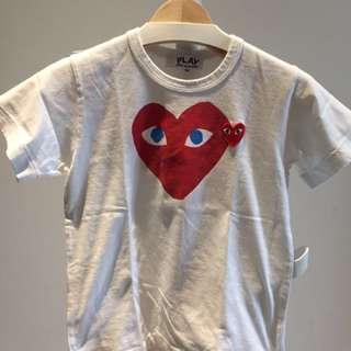 Comme des Garcon Play Tshirt
