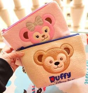 Duffy 達菲熊 化妝袋 筆袋 收納袋
