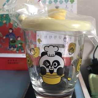 LC x line friends 玻璃杯