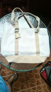 Big White Canvass Bag | Pre-loved