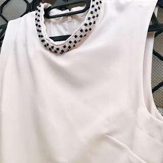 White Pinkish Dress