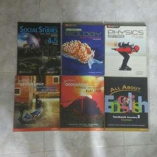 Upper secondary textbooks