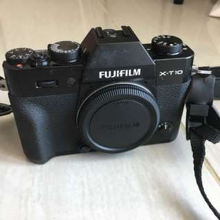 Kamera mirrorless fujifilm xt-10 mulus like new [body only]