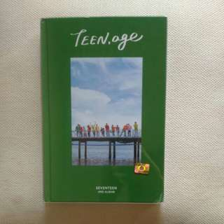 WTS FAST SEVENTEEN Teen,Age Green vs. UNSEALED ALBUM