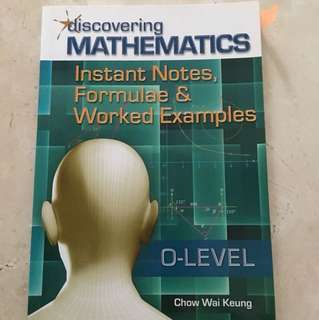 Discovering Mathematics- O level