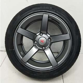 16 '' Sport Rim With Tyre 4x114.3 (SR775)