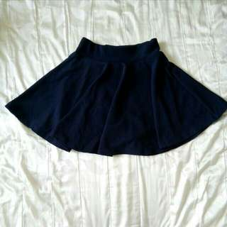 🚚 ✨全新現貨🎉深藍百搭實穿甜美褲裙