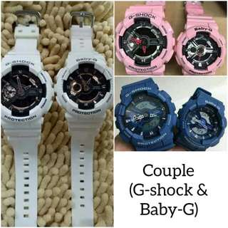 COUPLE (G-SHOCK and BABY-G)