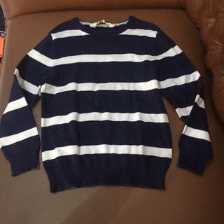 HM Stripes Sweater Navy
