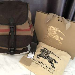Burberry Elegance Backpack
