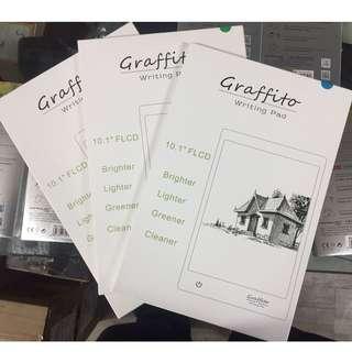 """Graffito 10.1"""" Writing Pad/Reusable Paper"""