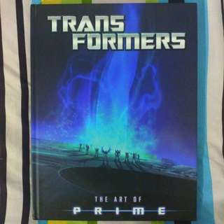 The Art of Transformers Prime