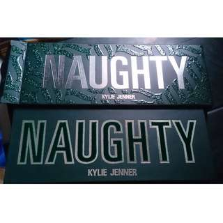 kylie cosmetics - the naughty palette