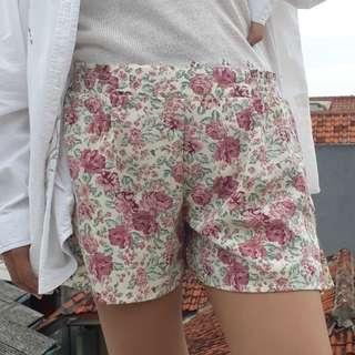 Floral Pants / Celana Motif Bunga