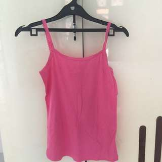 Pink Singlet by Colorbox