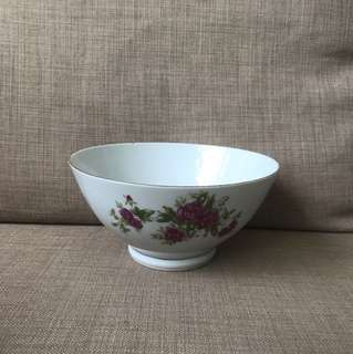 18cm Preloved flower print bowl x 2 pc